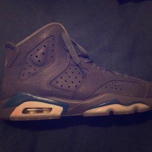 "Air Jordan 6 retro ""diffused blue"" Worn once"